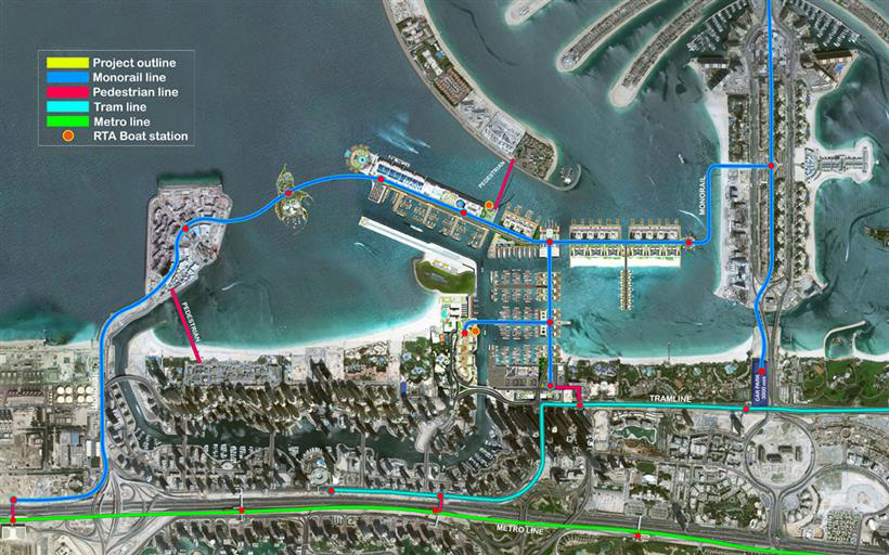 Emaar Beach Vista Apartments Master Plan